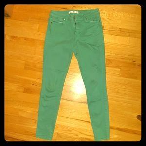 Else Sea Foam Green Skinny Jeans